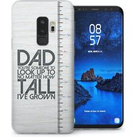 CASEFLEX SAMSUNG GALAXY S9 PLUS DAD GROWING UP QUOTE CASE / COVER (3D)