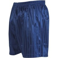 Precision Striped Continental Football Shorts 18-20 inch Navy
