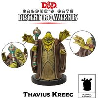 Dungeons & Dragons Collector's Series Descent into Avernus Miniature Thavius Kreeg