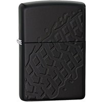 Zippo Tire Tread Armour Black Matte Windproof Lighter