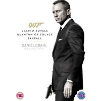 Daniel Craig 007 Triple Pack Casino Royale / Quantum of Solace / Skyfall DVD