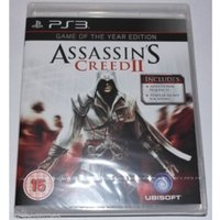 Assassin's Creed II 2 Game Of The Year PS3 Game