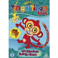 Tinga Tinga Tales: Why Monkeys Swing In The Trees DVD