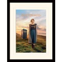 Doctor Who - 13th Doctor Mounted & Framed 30 x 40cm Print