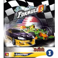 Formula D Expansion 3 Singapore and the Docks Board Game