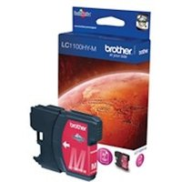 Brother LC-1100HYM Ink cartridge magenta, 750 pages, 10ml