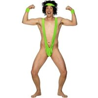 Thumbs Up! Borat Mankini Lime Green