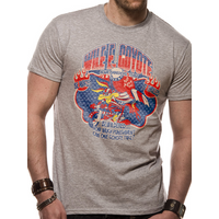 Looney Tunes - Wile E Coyote Men's Large T-Shirt - Grey