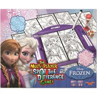 Disney Frozen Spot The Difference Game
