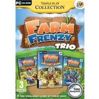 Triple Play Collection Farm Frenzy Trio Game