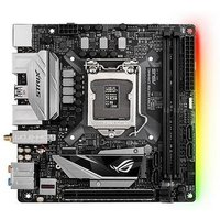 Asus ROG STRIX H270I GAMING, Intel H270, 1151, Mini ITX, 2 DDR4, Wi-Fi, HDMI, DP, Dual GB LAN, LED Lighting