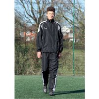 Precision Ultimate Tracksuit Jacket Black/Silver/White 38-40