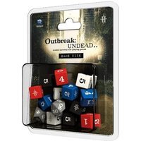 Outbreak Undead 2nd Edition Game Dice: The Survival Horror Simulation RPG