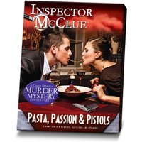 Ex-Display Pasta Passion and Pistols Murder Mystery Dinner Party Game