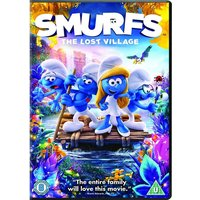 Smurfs The Lost Village DVD