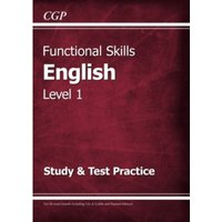 Functional Skills English Level 1 - Study & Test Practice by CGP Books (Paperback, 2016)