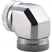 Phanteks 12mm Hard TubeAdapter 90 Mirror Chrome