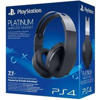 PS4 Official Sony PlayStation Platinum 7.1 3D Surround Sound Wireless Headset