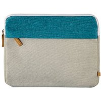 Hama Florence Notebook Sleeve, up to 25.6 cm (10.1), petrol/grey