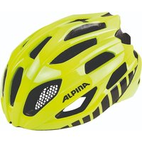 Alpina Fedaia Road Helmet Yellow/white 53-58cm