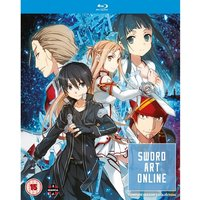 Sword Art Online Complete Season 1 Collection (Episodes 1-25) Blu-ray