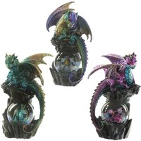 Seer Fantasy Nightmare Dragon Figurine (1 Random Supplied)