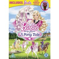 Barbie And Her Sisters In A Pony Tale (Includes Barbie Hair Ribbon) DVD + UV Copy