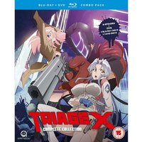 Triage X Complete Season 1 Collection Blu-ray/DVD Combo