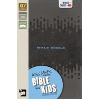 KJV Bible for Kids, Imitation Leather, Charcoal : Thinline Edition