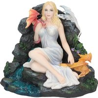 Maiden And The Dragonlings Statue