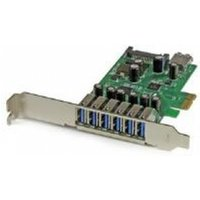 StarTech 7-Port PCI Express USB 3.0 Card Standard and Low-Profile Design