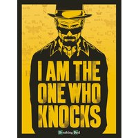 Breaking Bad - I Am the One Who Knocks Canvas