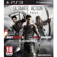Ultimate Action Triple Pack (Tomb Raider/Just Cause 2/ Sleeping Dogs) PS3 Game