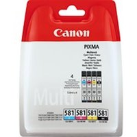 Canon 2103C004 (581) Ink cartridge multi pack, 6ml, Pack qty 4