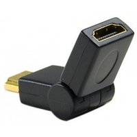 Connect Articulated Male/Female HDMI Adapter Black
