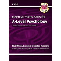 New A-Level Psychology: Essential Maths Skills by CGP Books (Paperback, 2015)