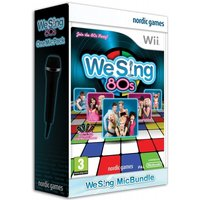 We Sing 80s Plus One Mic Wii Game