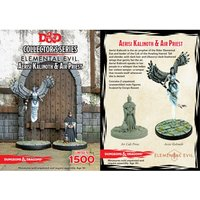 Dungeons & Dragons Collector's Series Princes of the Apocalypse Miniature Aerisi Kalinoth & Air Priest