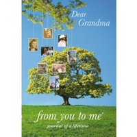 Dear Grandma Memory Journal capturing your grandmother's own amazing stories (Tree design) Diary