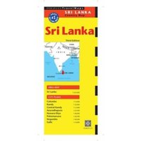 Sri Lanka Travel Map