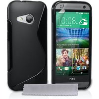 Caseflex HTC One Mini 2 S-Line Gel Case - Black