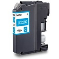 Brother LC-221C Ink cartridge cyan, 260 pages, 4ml