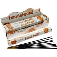 Sandalwood (Pack Of 6) Stamford Hex Incense Sticks