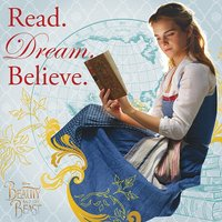 Beauty and the Beast Movie - Read Dream Believe Canvas