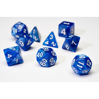 Sirius Dice - Pearl Blue Poly Set