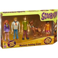 Scooby Doo Mystery Solving Crew Figures (Pack of 5)