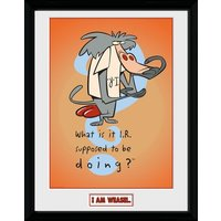 I Am Weasal What Is It I.R. Collector Print