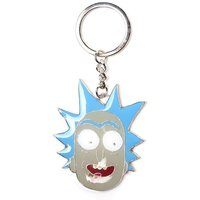 Rick And Morty Rick Big Face Pendant Metal Keychain