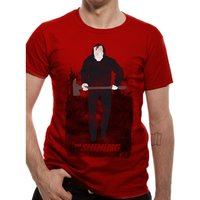 The Shining - Johnny Men's XX-Large T-Shirt - Red