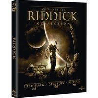 The Riddick Collection - Pitch Black/Dark Fury/The Chronicles of Riddick DVD